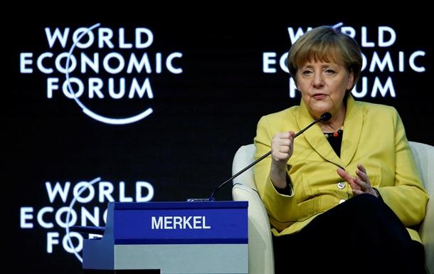 Меркель: Мы не оставим усилий разрешить ситуацию в Украине