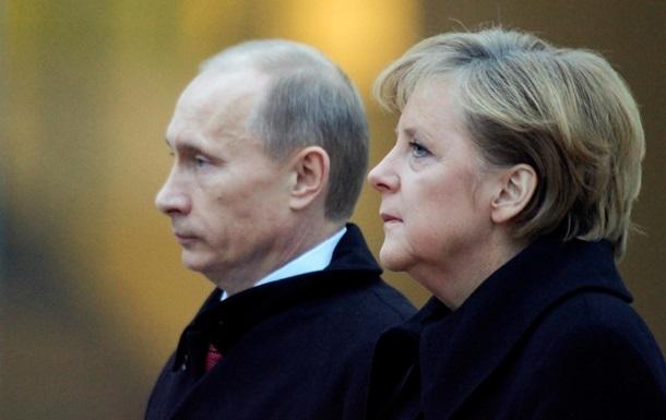 Меркель – Путину: Мир в Украине – в обмен на ЗСТ с Евросоюзом