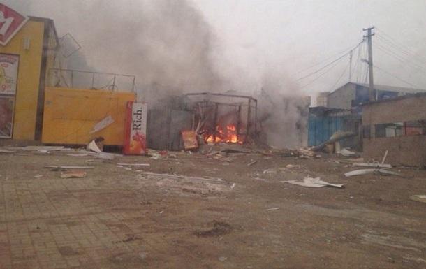 Под Мариуполем снаряд попал в блокпост, повреждена газовая станция