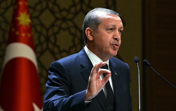 Туреччина втратила інтерес до вступу в ЄС - Ердоган