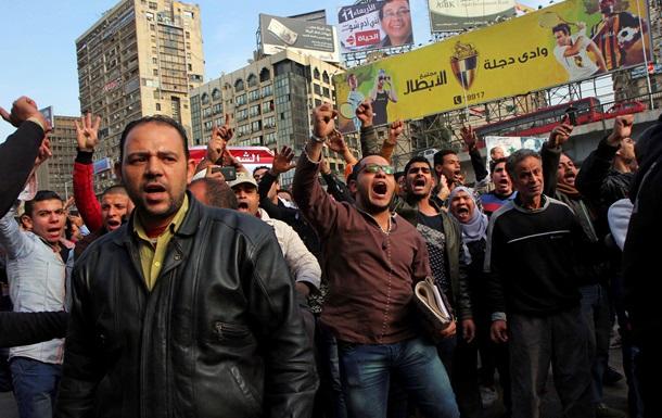 В четвертую годовщину революции в Египте погибли 18 человек
