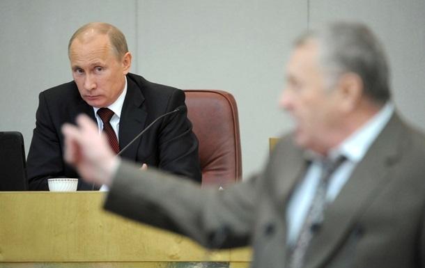 Жириновський пропонує визнати Україну країною-агресором