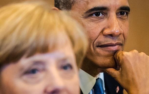 Меркель и Обама: Россию необходимо привлечь к ответственности