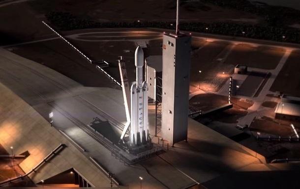 SpaceX продемонстрував політ найпотужнішої ракети Falcon Heavy
