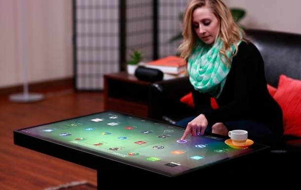 Представлений перший у світі двосистемний  розумний  стіл