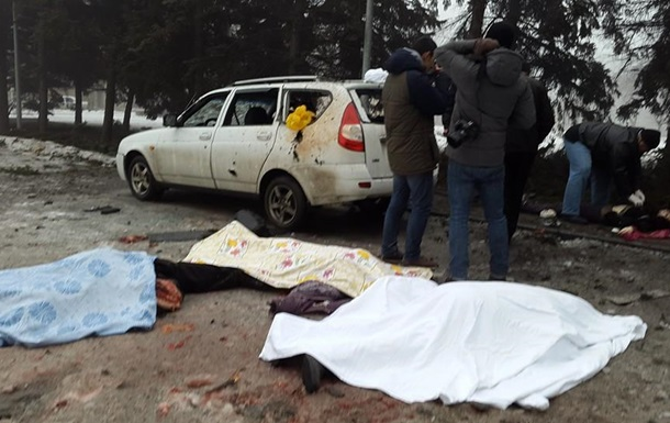 РНБО підтвердила смерть семи мирних жителів у Донецьку