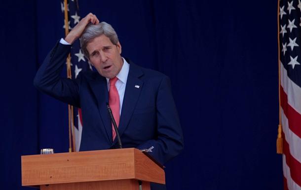 Госсекретарь США Керри посетит Киев 6 февраля - СМИ