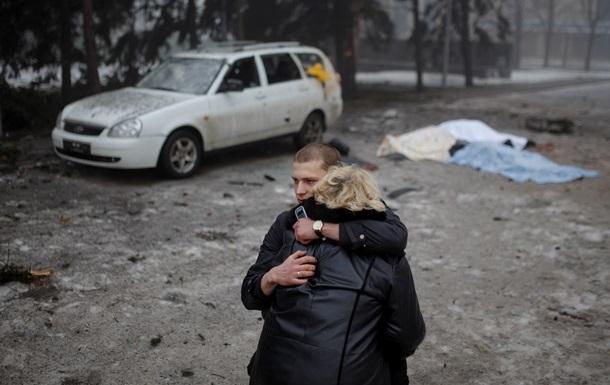 Итоги 30 января: Обстрел Донецка, пикет  Айдара  и новый антирекорд гривны