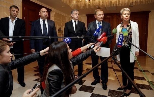 Глави сепаратистів назвали умову участі в переговорах у Мінську