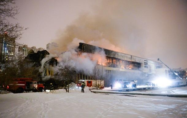 В Москве потушен пожар в крупнейшей научной библиотеке