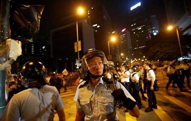 Протестующие в Гонконге вновь вышли на демонстрацию