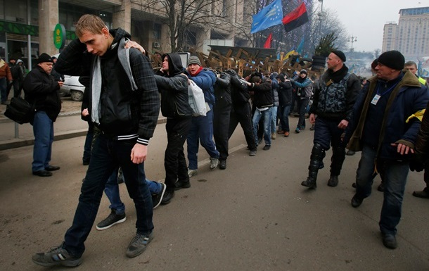 МВД раскрыло схему доставки  титушек  на Майдан