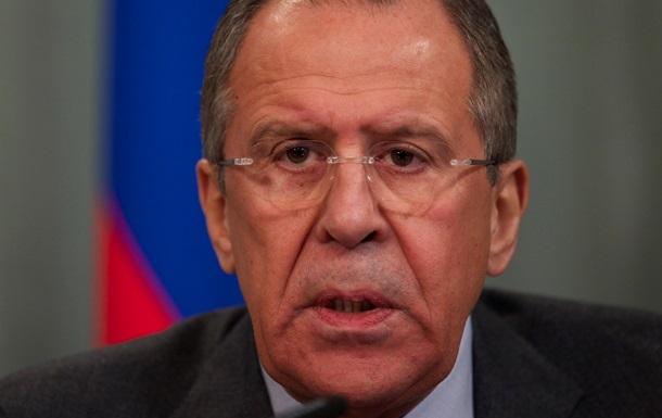 Лавров прокоментував заяву Обами про роль США у зміні влади в Україні