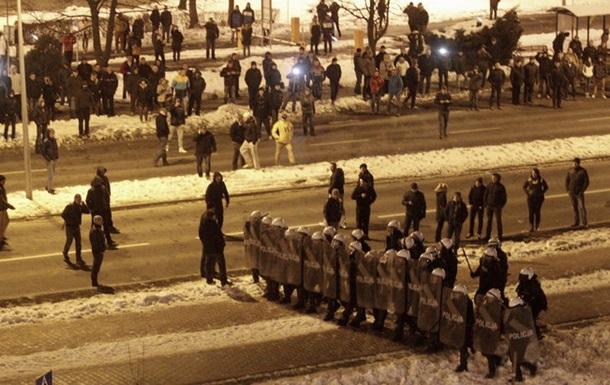 В Польше протест шахтеров перерос в беспорядки и столкновения с полицией