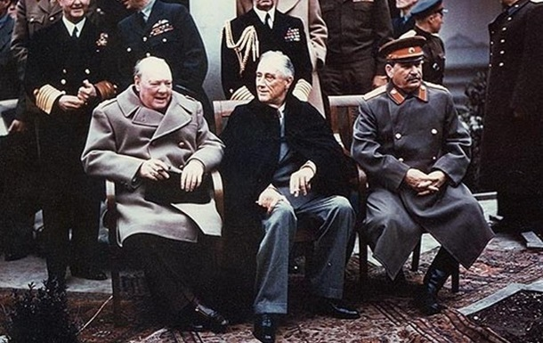 В Ялте установят памятник Сталину, Рузвельту и Черчиллю