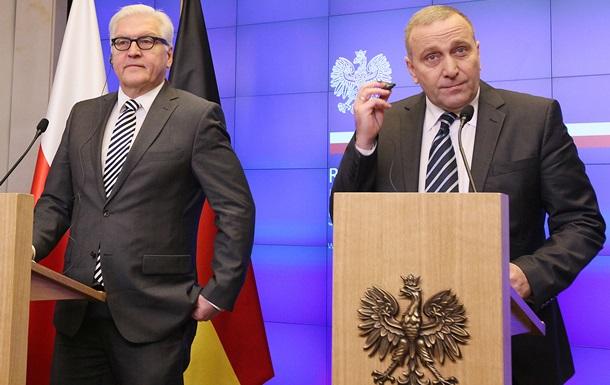 Глави МЗС Польщі та ФРН: Переговори щодо Донбасу зайшли в глухий кут