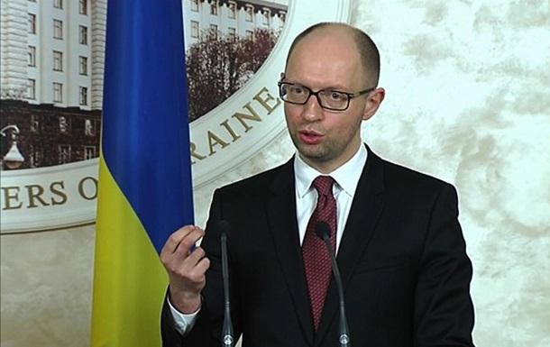 Украина воюет на Донбассе с регулярной российской армией – Яценюк