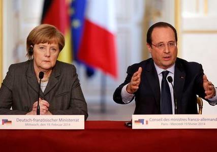 Меркель и Олланд - кони апокалипсиса.