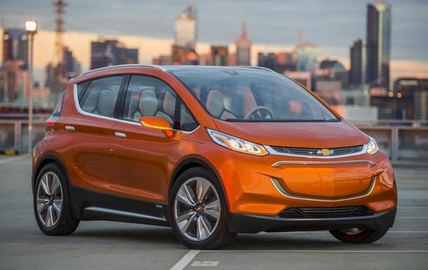 Chevrolet запустить у серію недорогий елетрокар Bolt