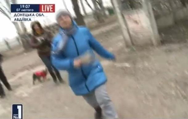 В Авдеевке жители напали на украинских журналистов