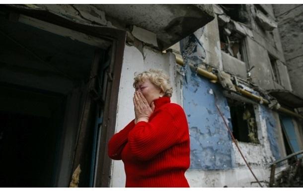 По всему Донецку с утра слышны залпы артиллерии