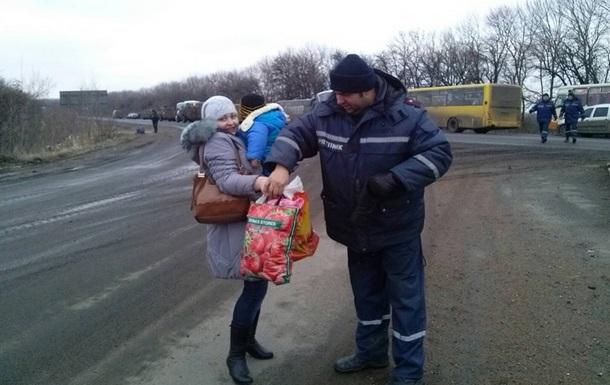 ОБСЄ: Жителі Дебальцевого не хочуть виїжджати на територію ДНР