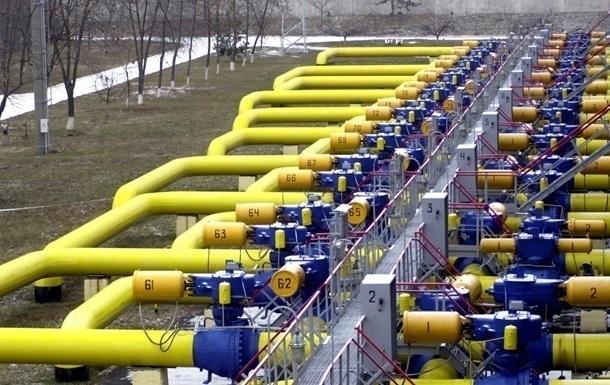 Україна майже на половину скоротила запаси газу у сховищах