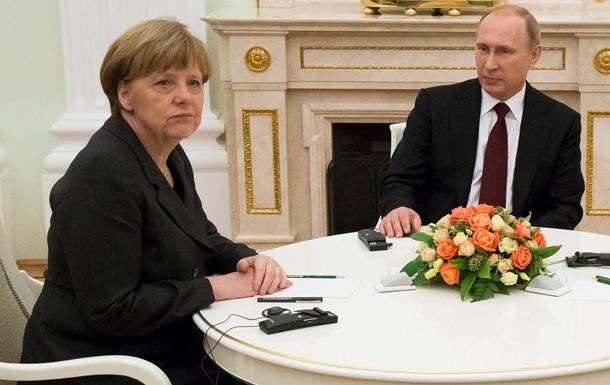 Кремль спростував інформацію про  ультиматум  Меркель