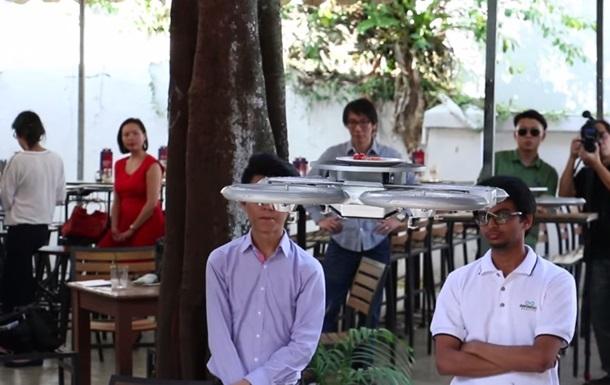 В Сингапуре еду вместо официантов будут доставлять дроны
