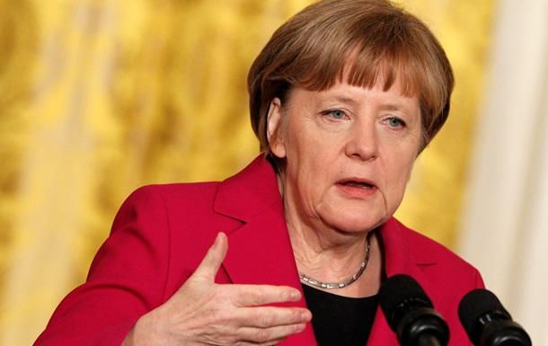 Меркель: Поставки оружия Киеву не решат украинский конфликт