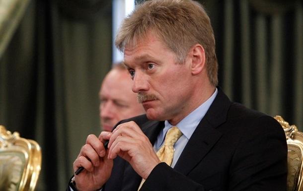 Пєсков: Посилення санкцій спрямоване на дестабілізацію ситуації в Україні