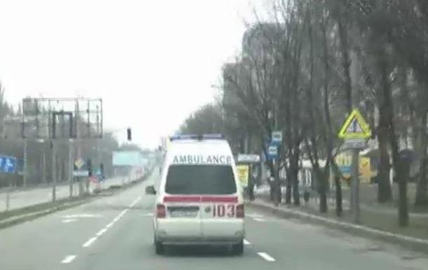 Донецк: один день из жизни  скорой помощи  - BBC