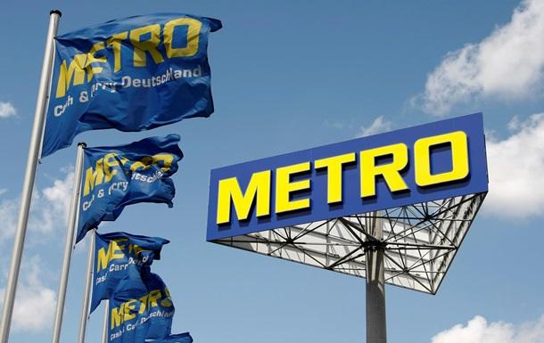 Metro потерял 60 миллионов евро из-за слабого рубля