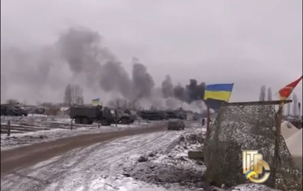 Появилось видео обстрелянного аэродрома в Краматорске