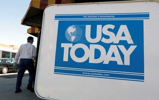 Газета USA Today опубликовала карту Украины без Крыма
