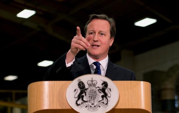 Кэмерон: Санкции лучше  умиротворения  России