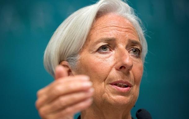 Глава МВФ выступит с заявлением по Украине утром в четверг