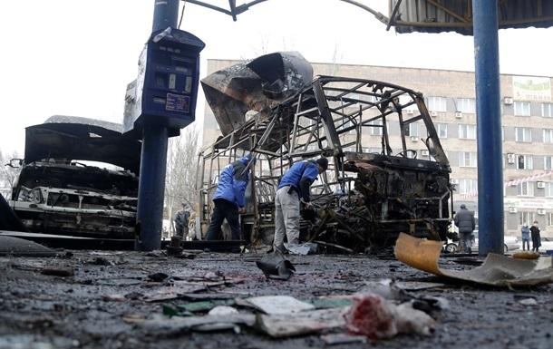 МВС опублікувало аудіозапис обстрілу автостанції в Донецьку