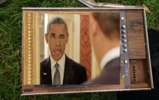 Обама стал героем социальной рекламы