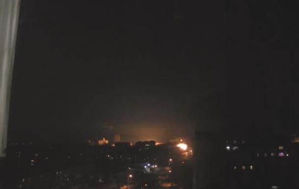 Луганск Обстрел восточных кварталов 12.02.2015