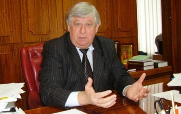 Шокін звільнив главу слідчого управління Генпрокуратури