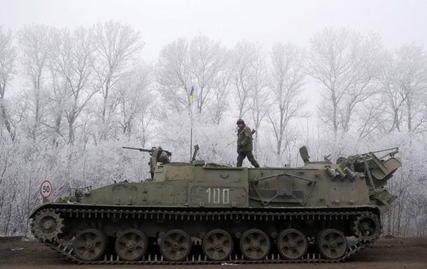 Режим прекращения огня на Донбассе соблюдается везде кроме Дебальцево