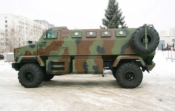 Нацгвардия получила на вооружение бронемашины Шрек