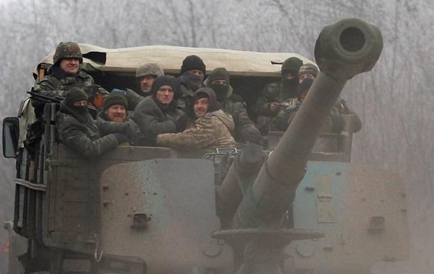 Штаб АТО: Україна не готова до відведення важкого озброєння