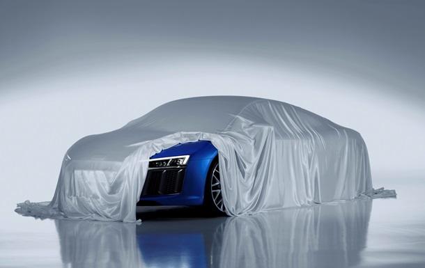 Компания Audi приоткрыла  лицо  нового R8
