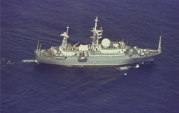 Корабль ВМФ России занят разведкой в территориальных водах штата Флорида, США