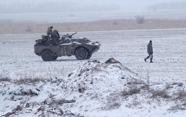Группа военных попала в плен в Дебальцево