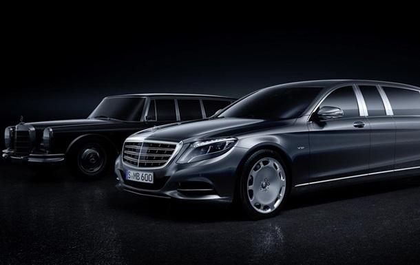 В Mercedes-Benz показали фото самой длинной модели S-Class