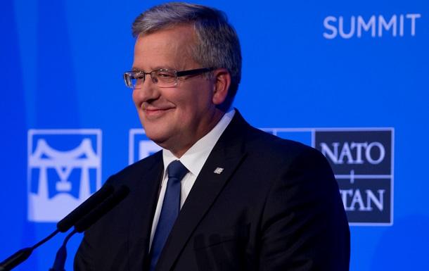 Мінські угоди знаходяться під загрозою - президент Польщі