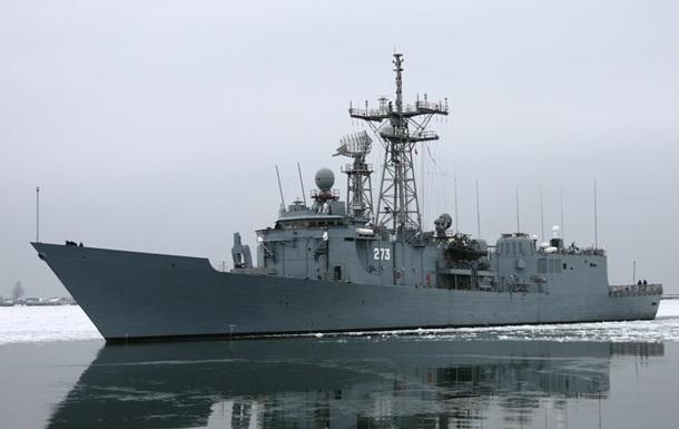 Два корабля ВМС Польши столкнулись в Балтийском море
